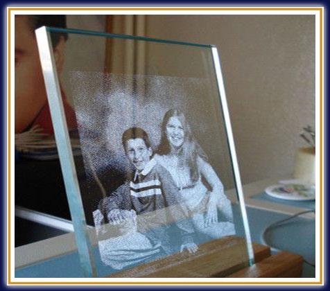 Как сделать картинку в стекле